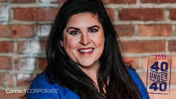 Bethany Galbreath, One10 Senior Event planner, named Connect Corporate 40 Under 40